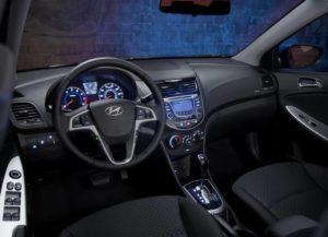 Hyundai solaris 2015 салон