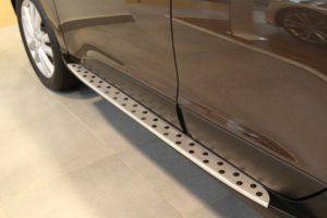 Установка порогов Hyundai ix35
