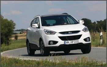 Hyundai IX35 тест драйв