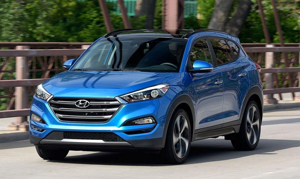 Цвета Hyundai Tucson 2018 и 2019 года (25 фото)