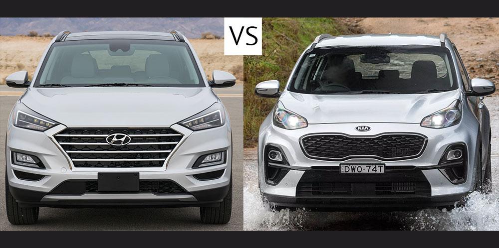Сравниваем Hyundai Tucson и Kia Sportage 2019 года – что выбрать?