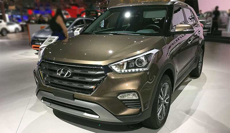 Цвета новой модели Hyundai Creta 2018-2019 (15 фото)