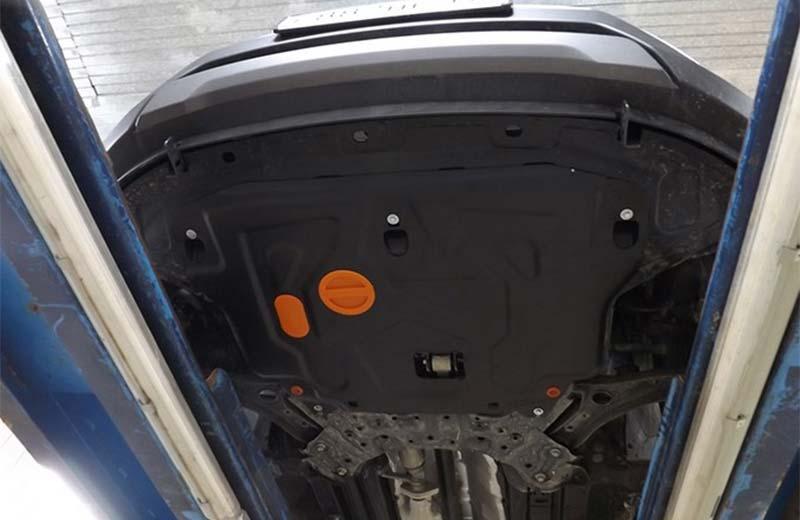 Установка защиты картера на Hyundai Creta (ix25): цены и рекомендации