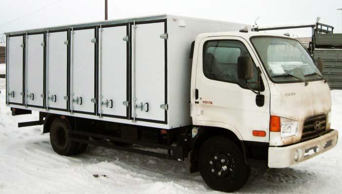 Расход топлива грузовика Hyundai hd78 (солярка, дизель, бензин)