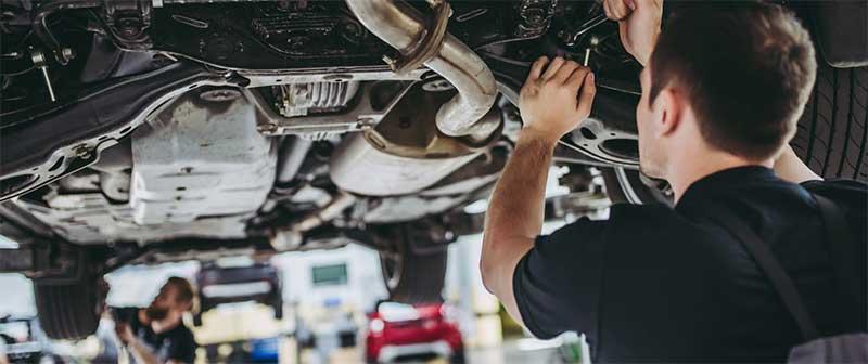 Ремонт автомобиля в сервисе