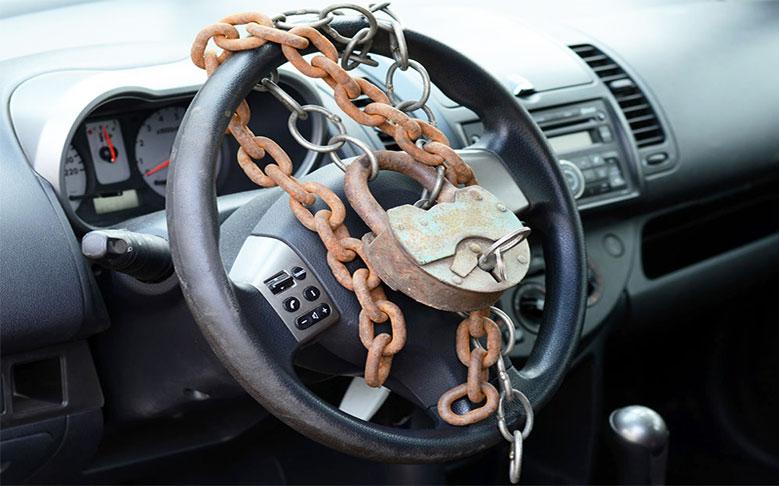 Блокираторы (фиксаторы) для авто