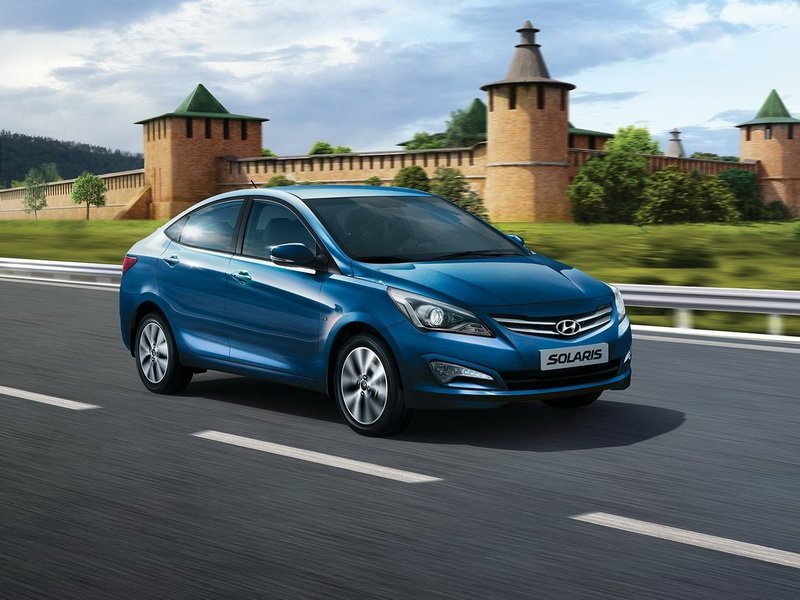 Какой объем топливного бака на Hyundai Solaris